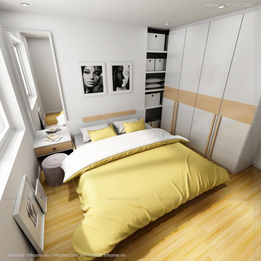 Thiết kế nội thất chung cư C14 Bộ Công An