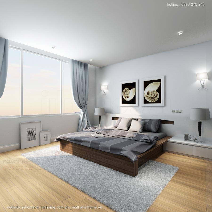 Thiết kế nội thất căn hộ Hyundai Hillstate