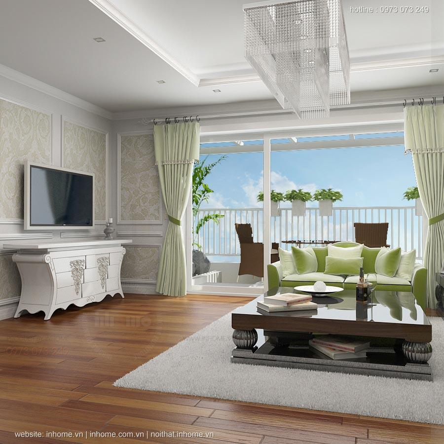 Thiết kế nội thất đẹp, Chị Hà, Láng Hạ