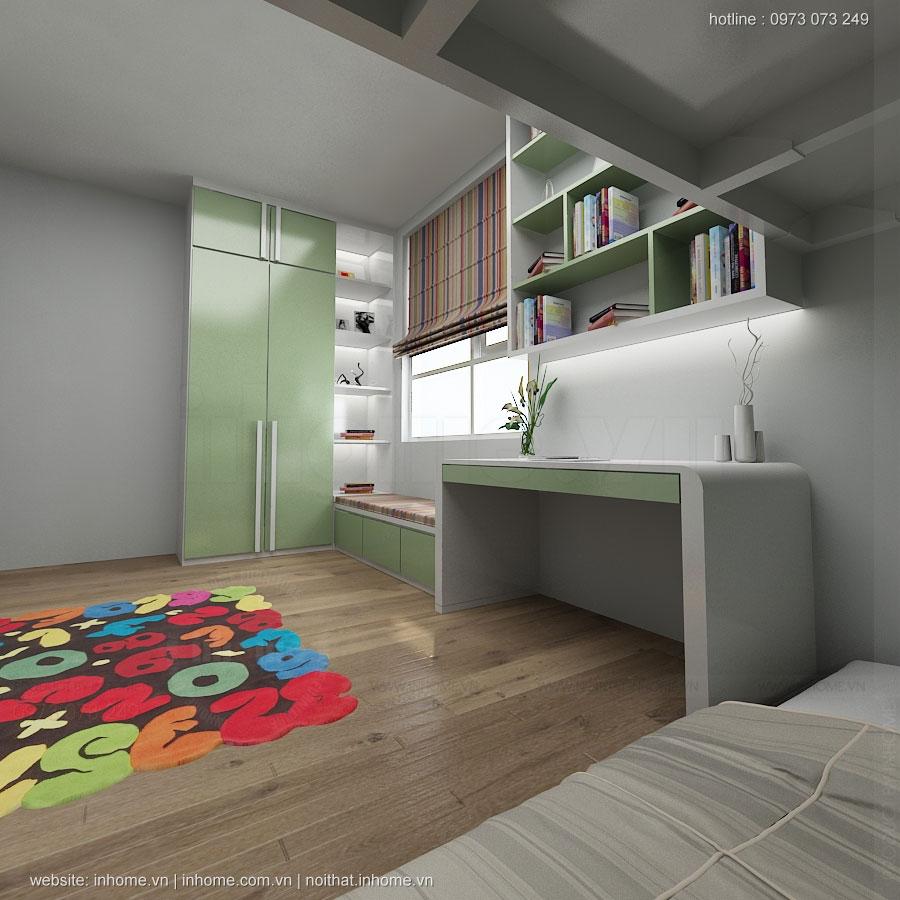 Thiết kế nội thất chung cư Nguyễn Huy Tưởng