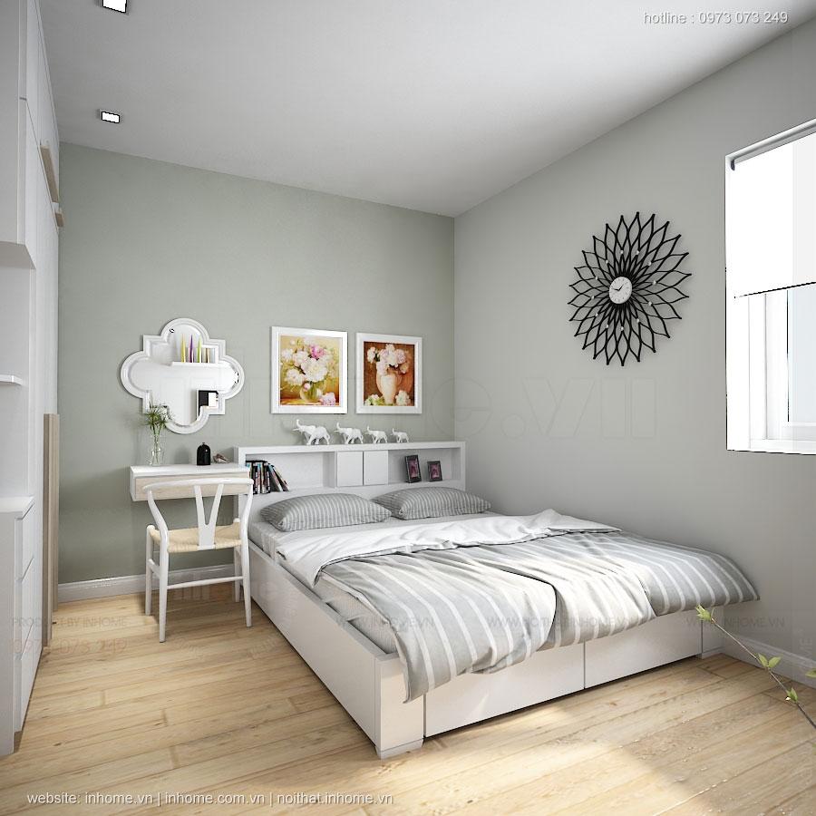 Thiết kế nội thất căn chung cư Trung hòa Nhân Chính