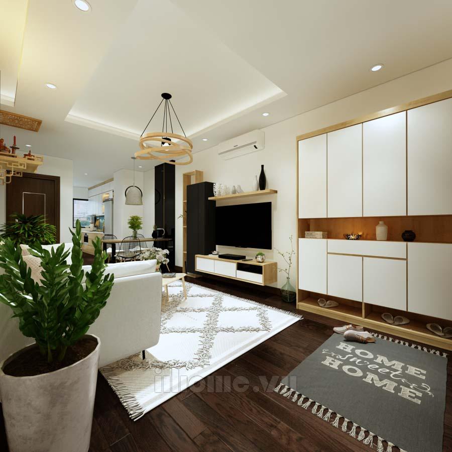 Thiết kế nội thất chung cư ICID Lê Trọng Tấn