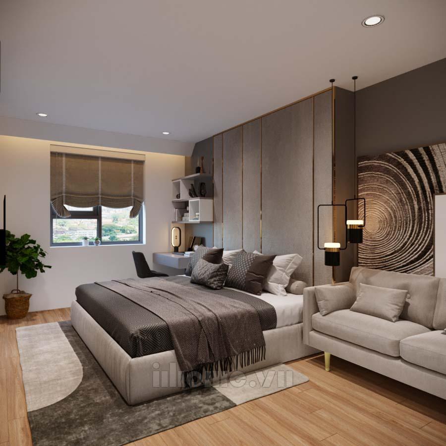 Thiết kế nội thất chung cư Mipec-Long Biên