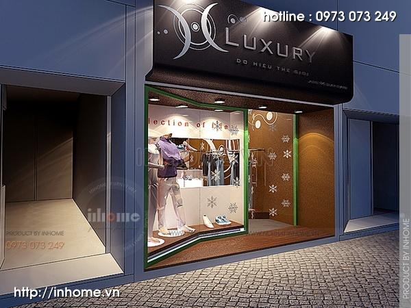 Thiết kế showroom Luxury