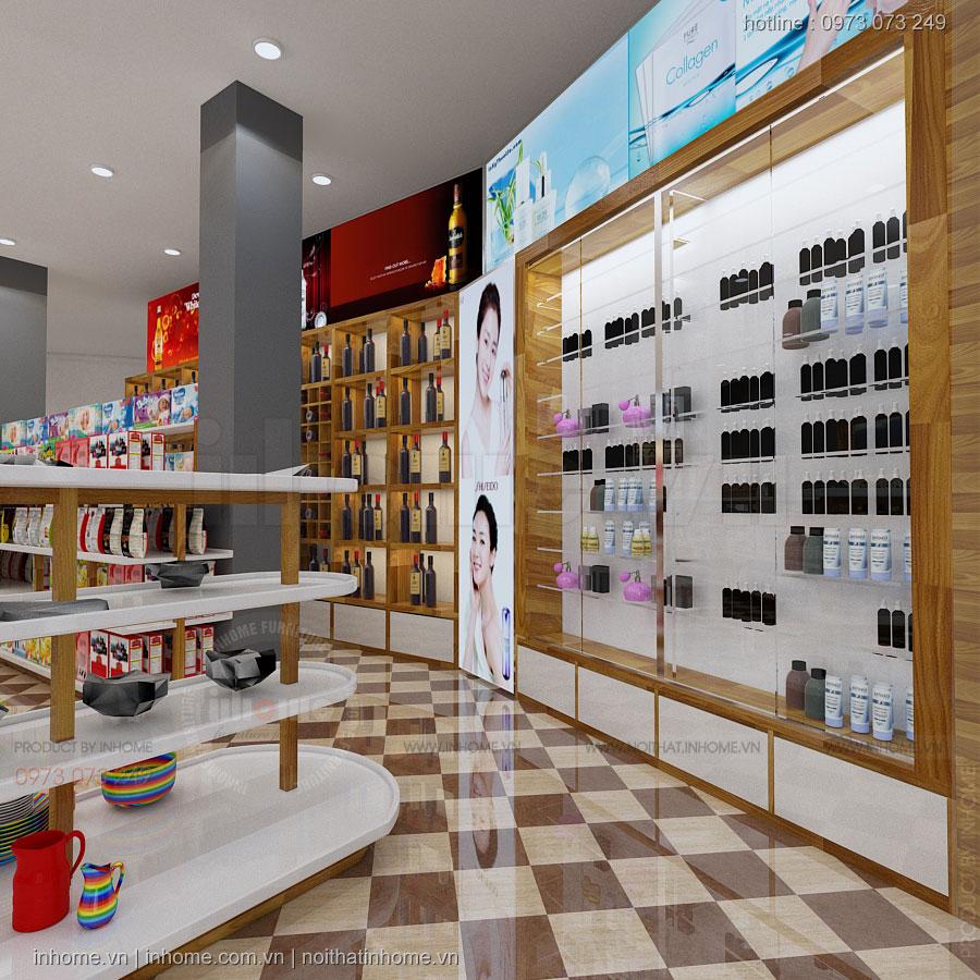 Thiết kế nội thất cửa hàng đồ gia dụng