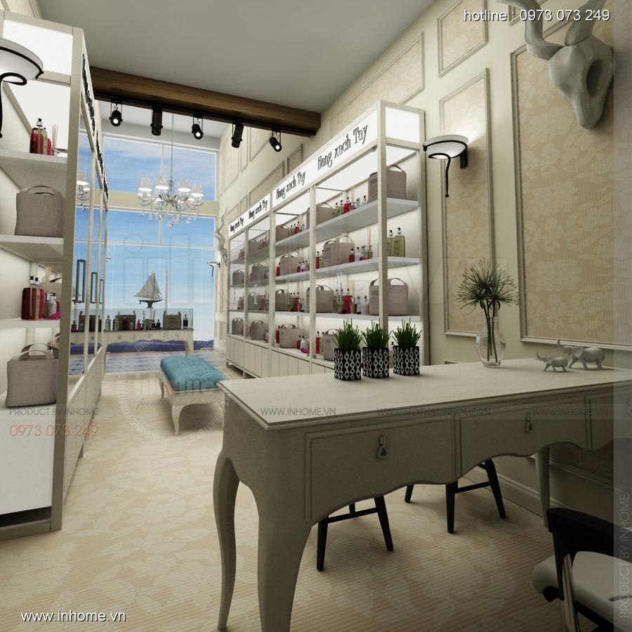 Thiết kế nội thất showroom hàng xách tay