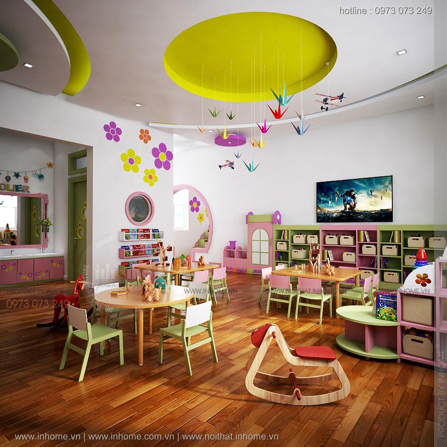 Thiết kế trường mầm non tư thục Ánh Dương-Sầm Sơn
