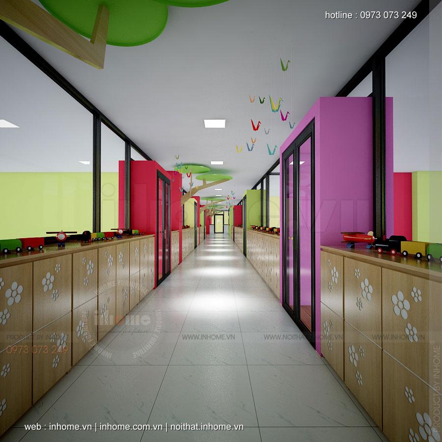 Thiết kế trường mầm non Cát Tường