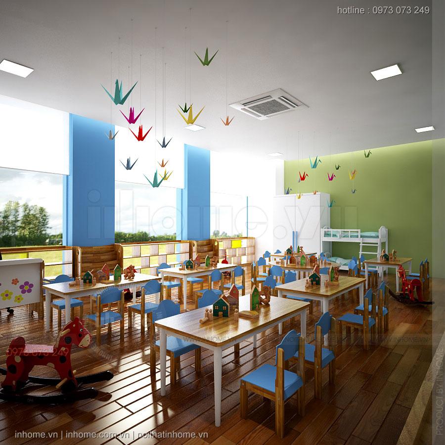 Thiết kế trường mầm non chuẩn Quốc Tế-Nam Định Tower