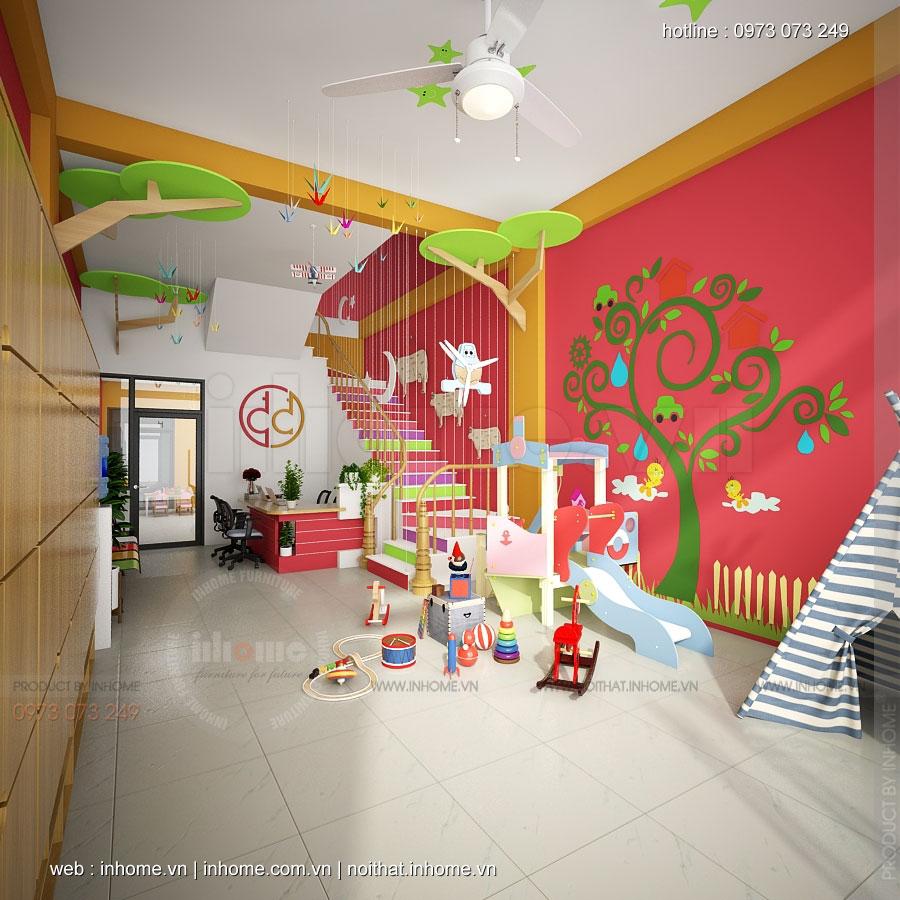 Thiết kế trường mầm non Từ Sơn-Bắc Ninh