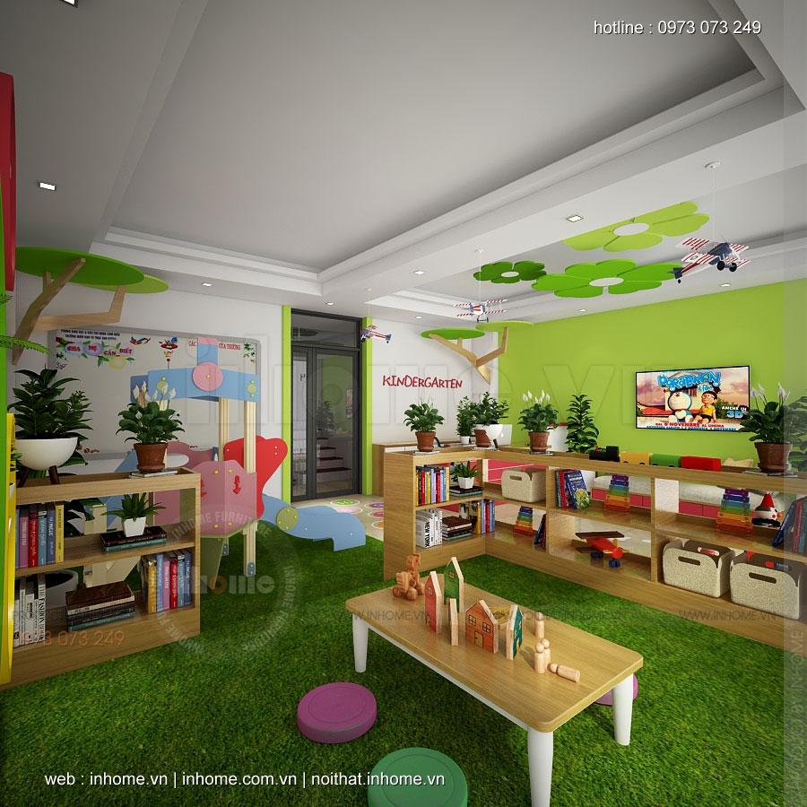 Thiết kế trường mầm non Đông Ngạc-Từ Liêm