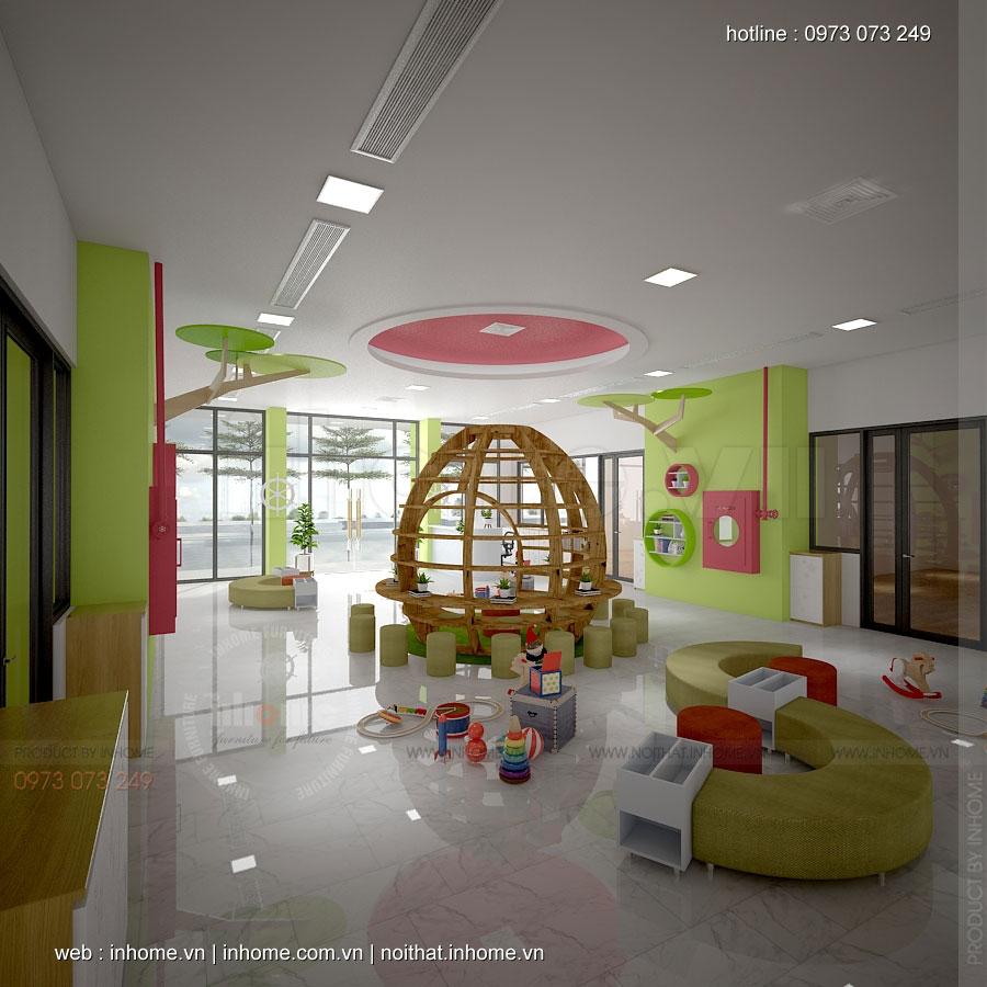 Thiết kế trường mầm non Goldmark City