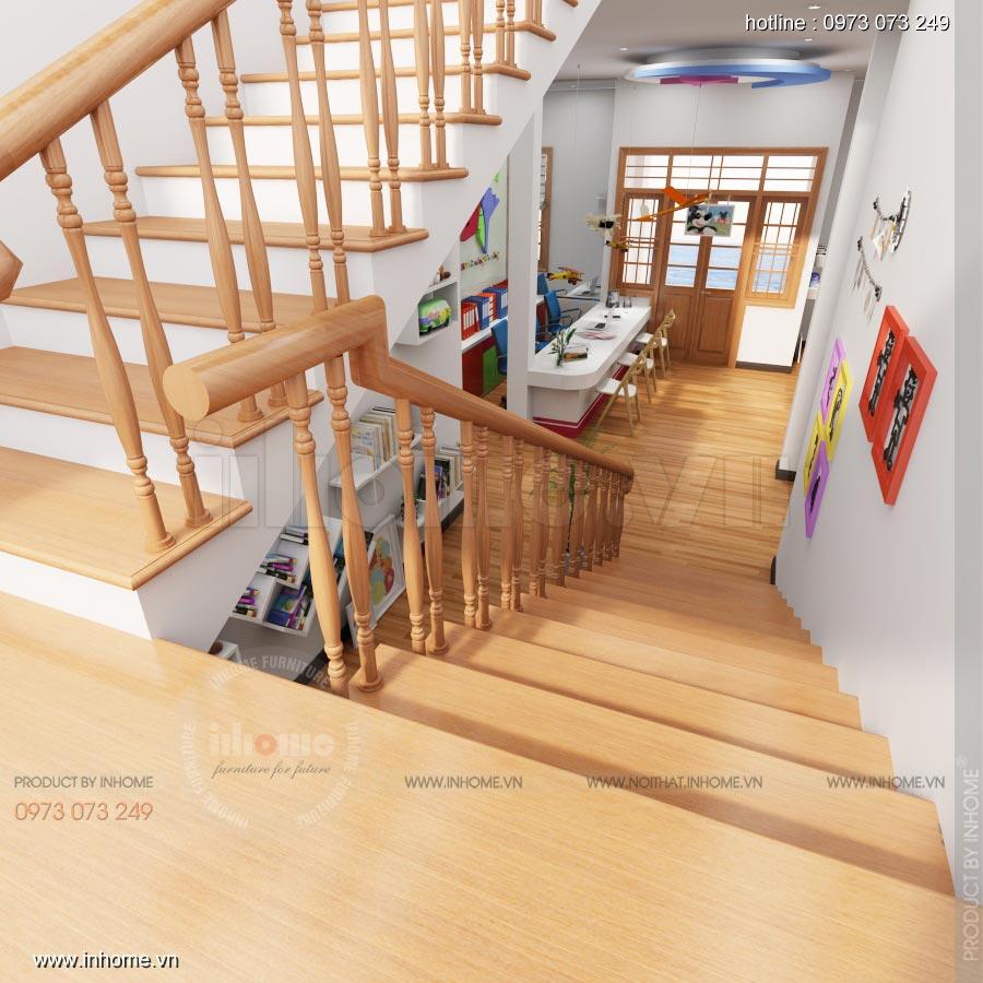 Thiết kế nội thất trường mầm non Ngôi Sao, TP Nam Định