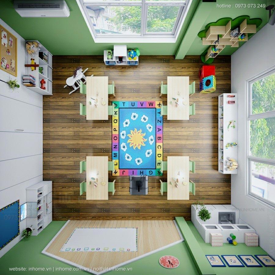 Thiết kế trường STEAMFORD Kids Preschool