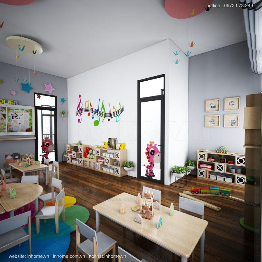 Thiết kế nội thất trường Eureka