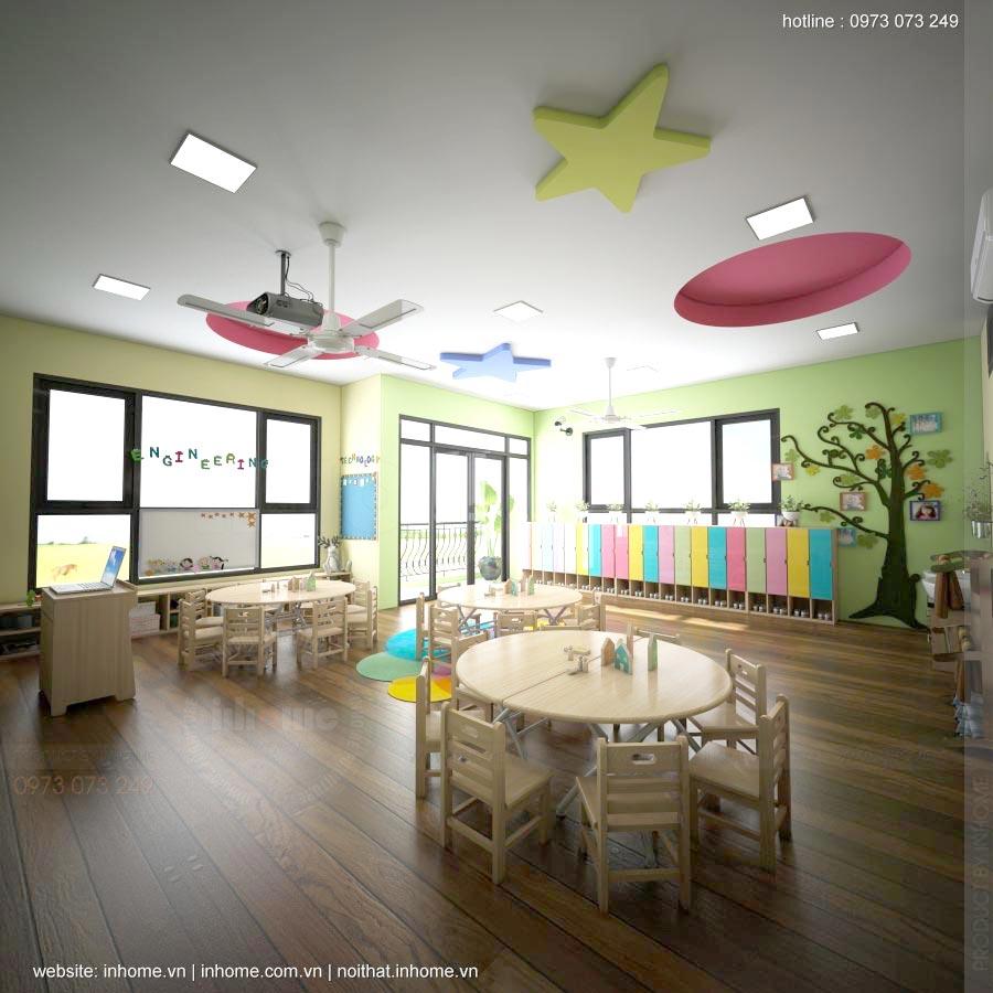 Thiết kế trường mầm non TomoKid