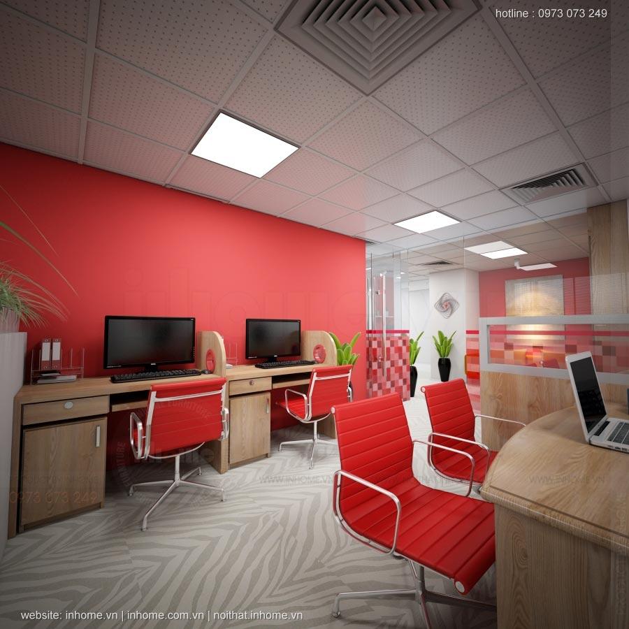 Thiết kế nội thất văn phòng Điện Quang