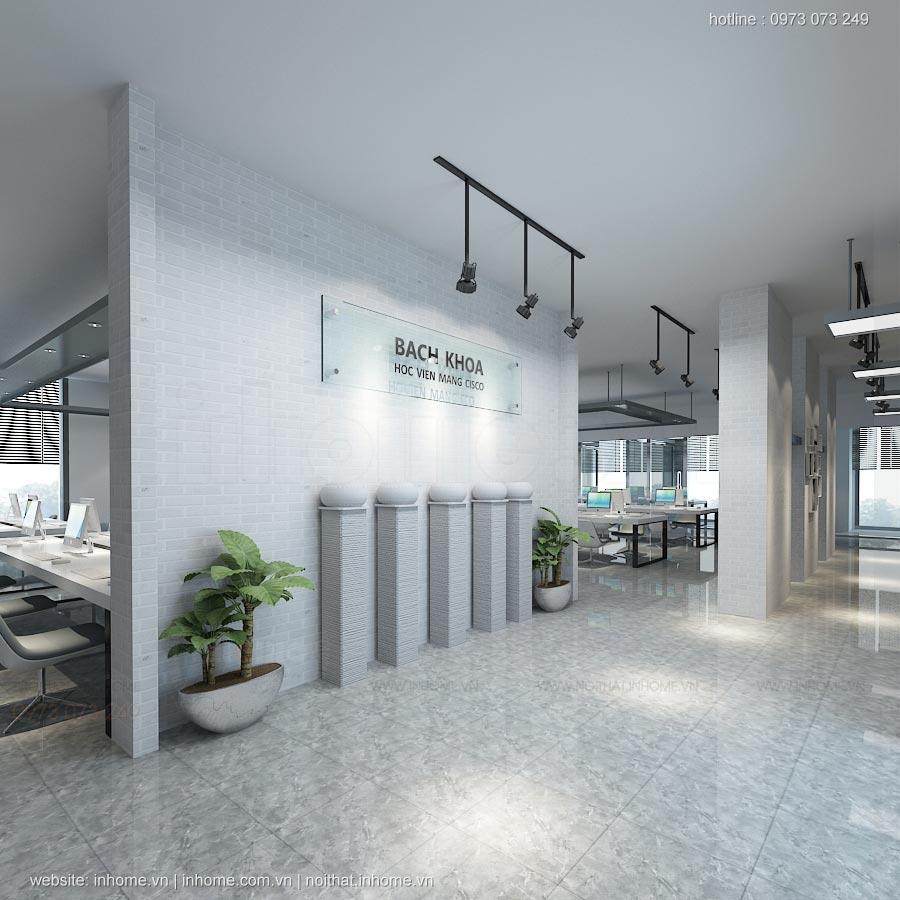 Thiết kế nội thất văn phòng CISCO