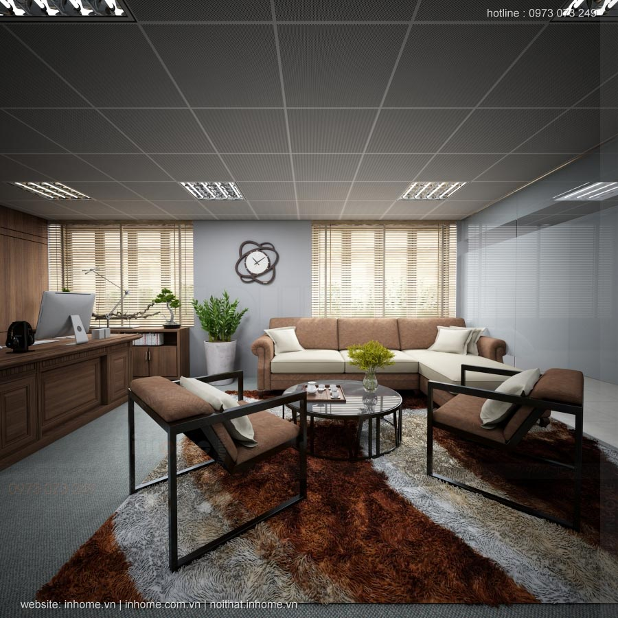 Thiết kế nội thất văn phòng công ty tại hà nội tiết kiệm chi phí