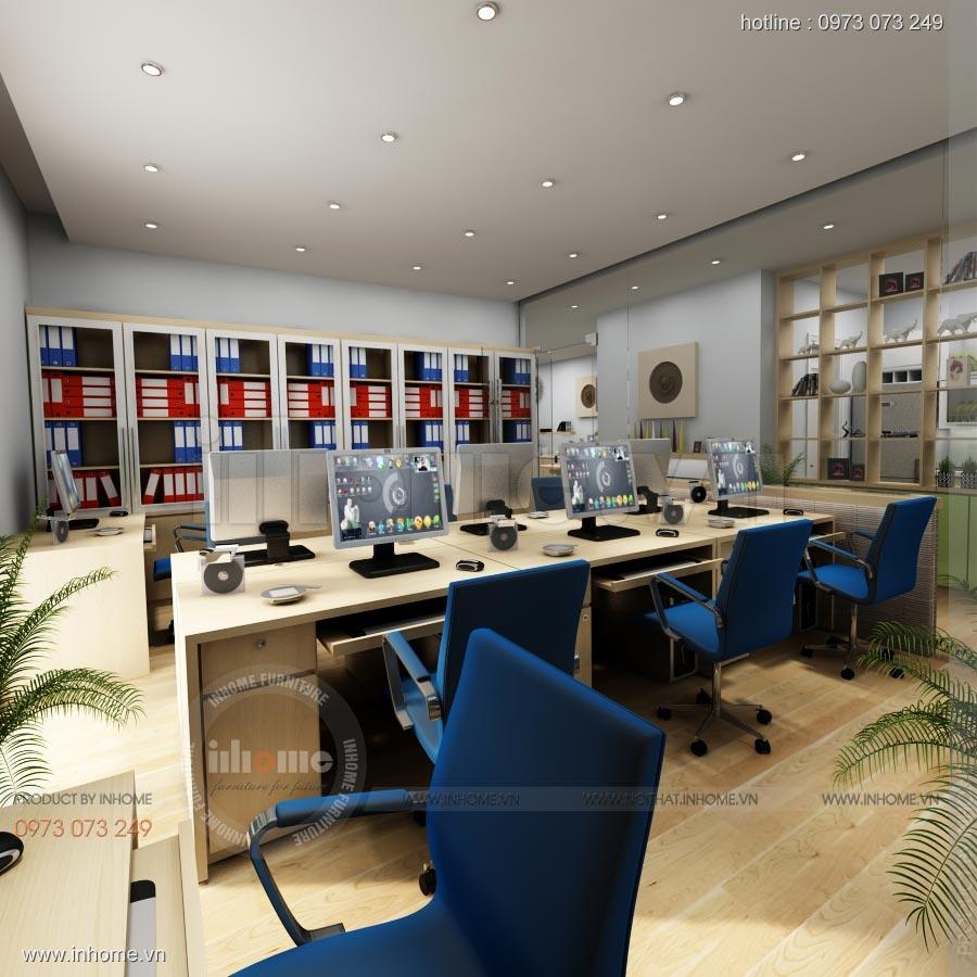 Thiết kế nội thất văn phòng công ty Nam Phát