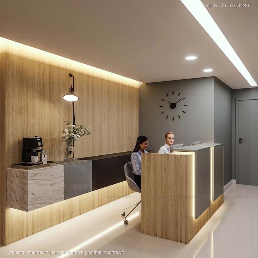 Thiết kế nội thất văn phòng tại Hải Phòng