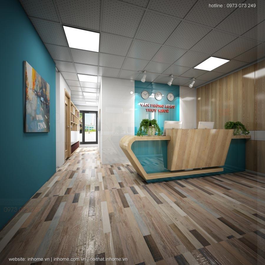 Thiết kế nội thất văn phòng luật Thụy Khuê