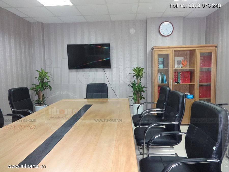 Thi công nội thất phòng họp Công ty Luật TNHH ELITE