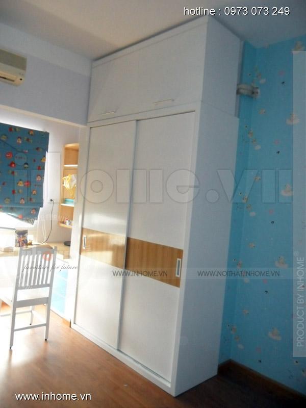 Thi công nội thất chung cư Skylight, Anh Dũng