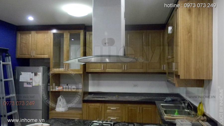Thi công tủ bếp, Anh Đạt, Tây Mỗ