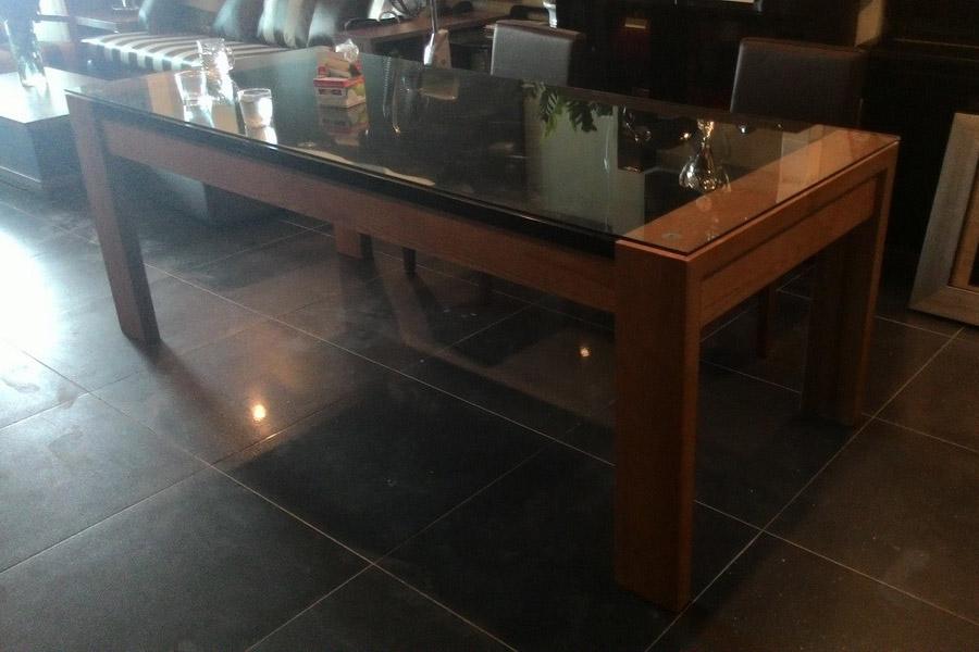 Thi công bàn ăn, tủ đựng đồ, Chị Trâm, Lê Văn Lương
