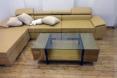 Thi công bộ sofa da, bàn trà - Nhà anh Minh, Thanh Xuân