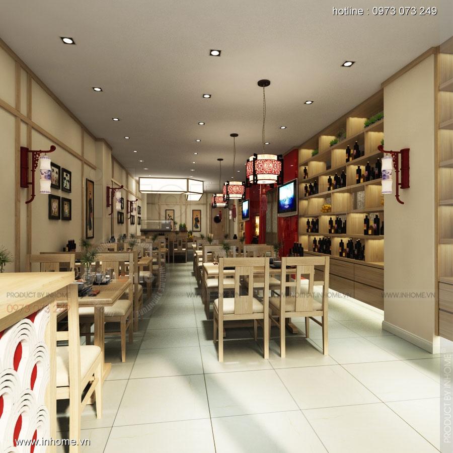 Thiết kế nhà hàng nhật Kaminuma 02