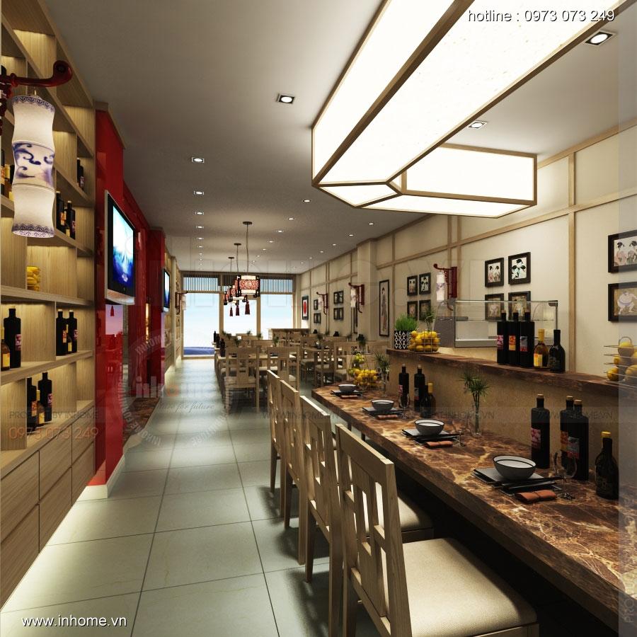 Thiết kế nhà hàng nhật Kaminuma 05