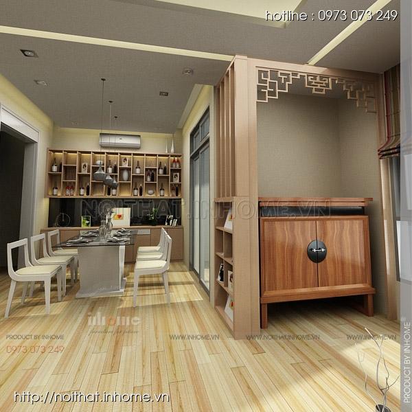 Thiết kế nội thất chung cư Huyndai Hillstate 01