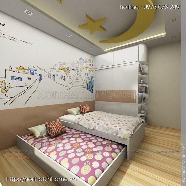 Thiết kế nội thất chung cư Huyndai Hillstate 08