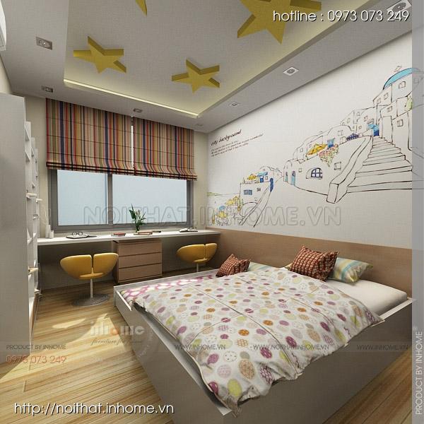 Thiết kế nội thất chung cư Huyndai Hillstate 10