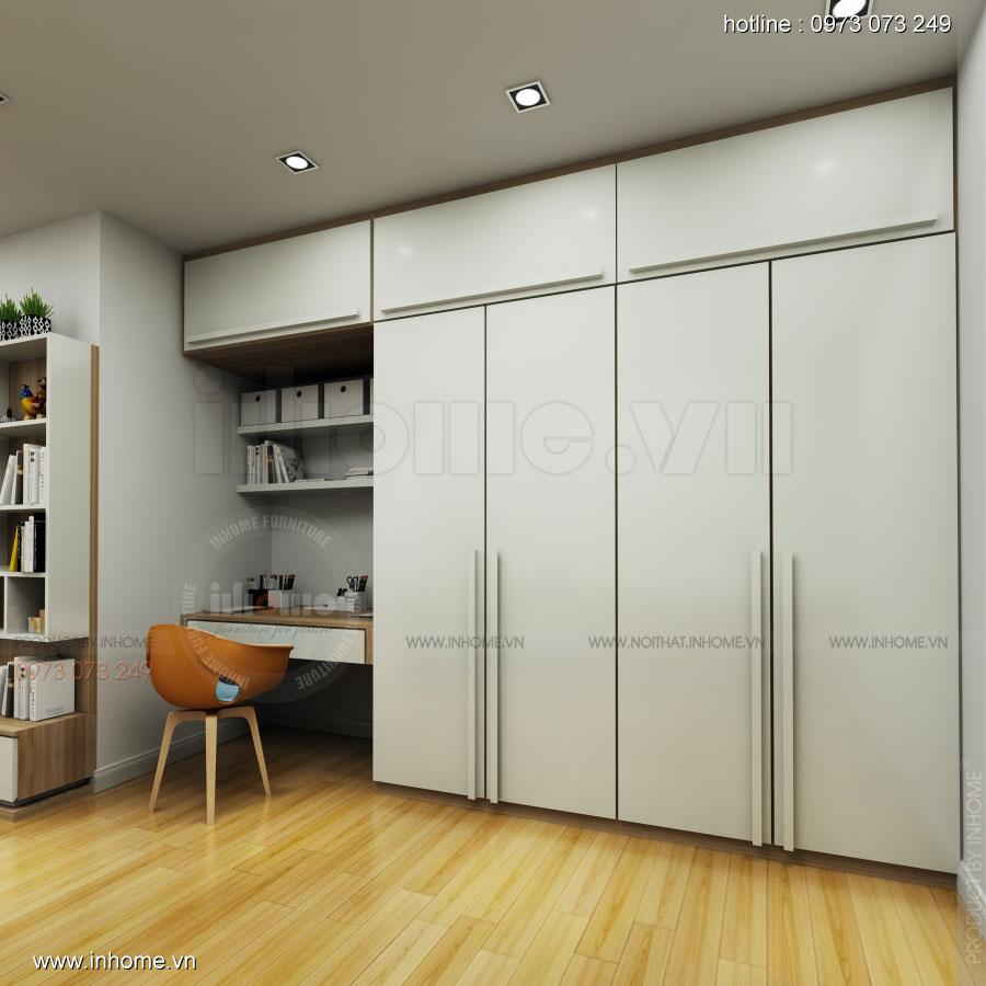 Thiết kế nội thất phòng ngủ đẹp 01