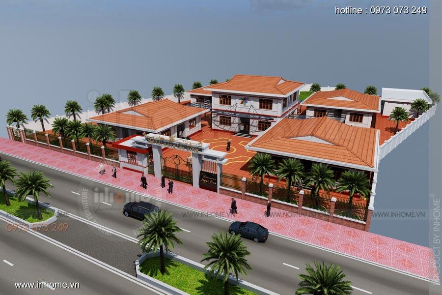 Thiết kế nội thất trường mầm non Ngôi Sao - TP Nam Định 17