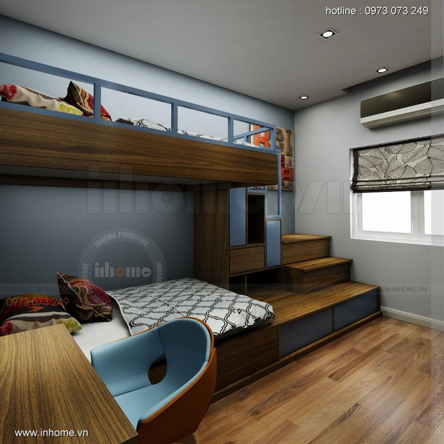 Thiết kế nội thất nhà phân lô, đô thị Xuân Phương Viglacera 11