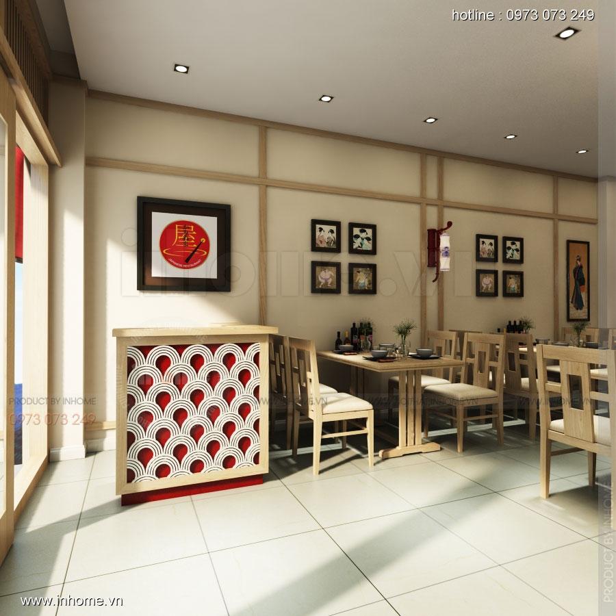 Thiết kế nhà hàng nhật Kaminuma 06