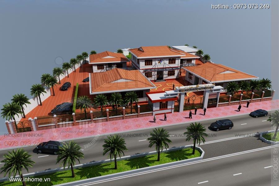 Thiết kế nội thất trường mầm non Ngôi Sao - TP Nam Định 18