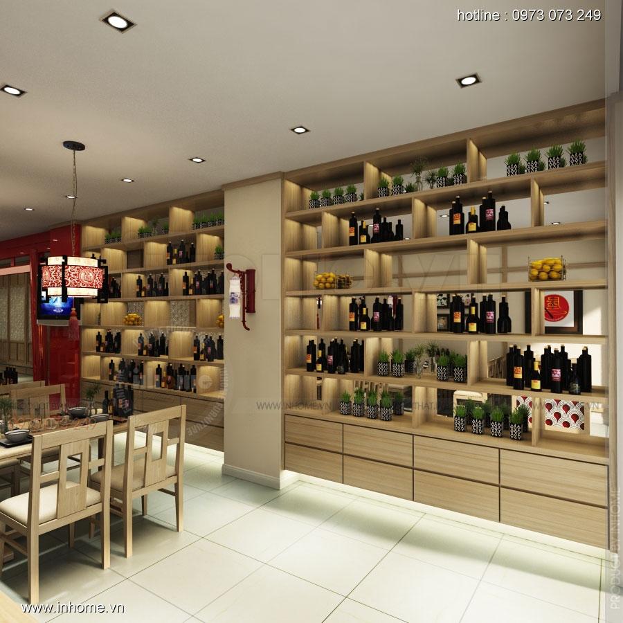 Thiết kế nhà hàng nhật Kaminuma 07