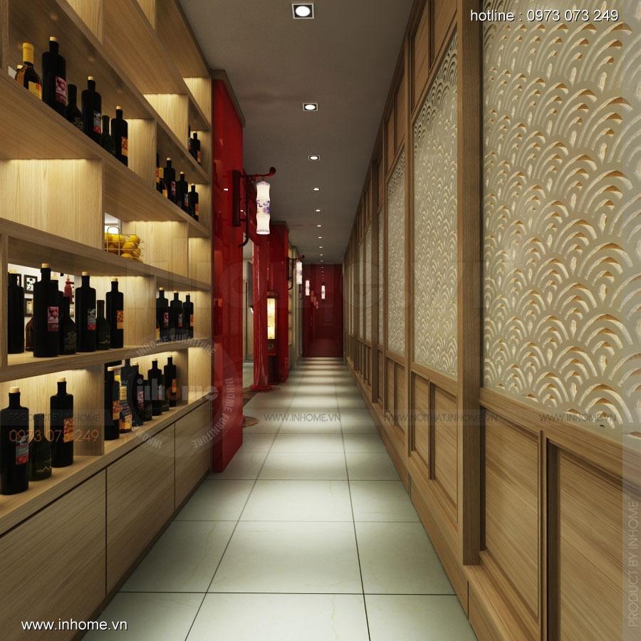 Thiết kế nhà hàng nhật Kaminuma 08