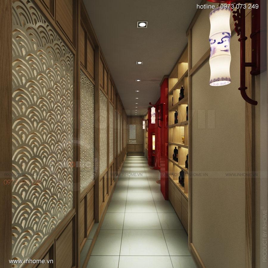 Thiết kế nhà hàng nhật Kaminuma 09