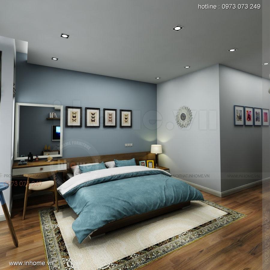 Thiết kế nội thất nhà phân lô, đô thị Xuân Phương Viglacera 14