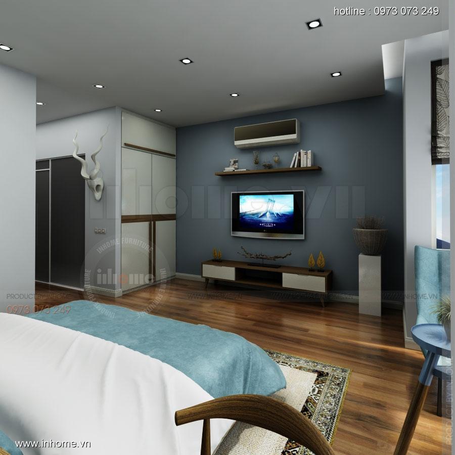 Thiết kế nội thất nhà phân lô, đô thị Xuân Phương Viglacera 15