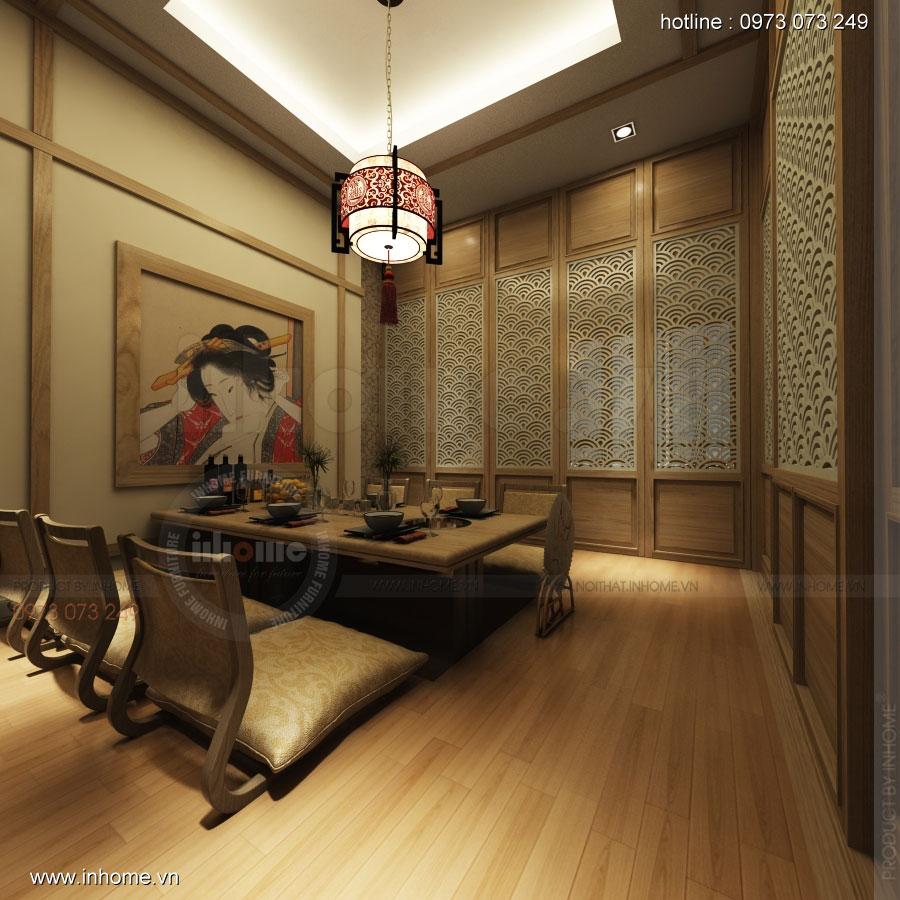 Thiết kế nhà hàng nhật Kaminuma 10