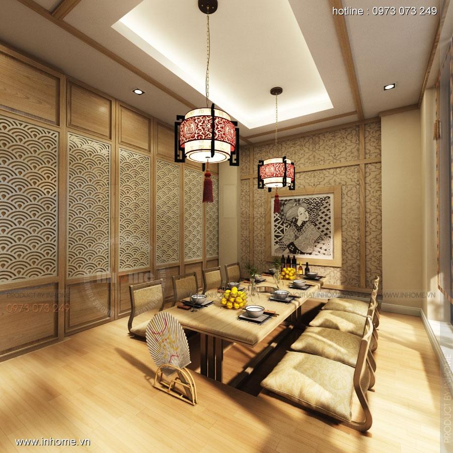 Thiết kế nhà hàng nhật Kaminuma 13