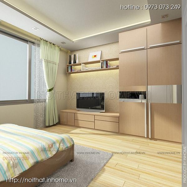 Thiết kế nội thất chung cư Huyndai Hillstate 06