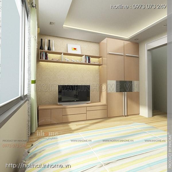 Thiết kế nội thất chung cư Huyndai Hillstate 07